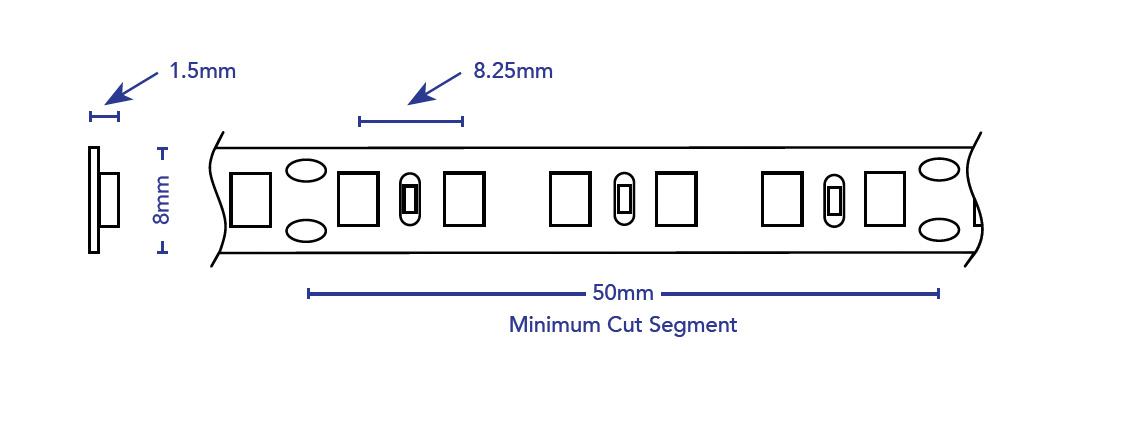 Led Low Output Premium Linear Strip, 4523, 4578, 4571, 4431.lineart