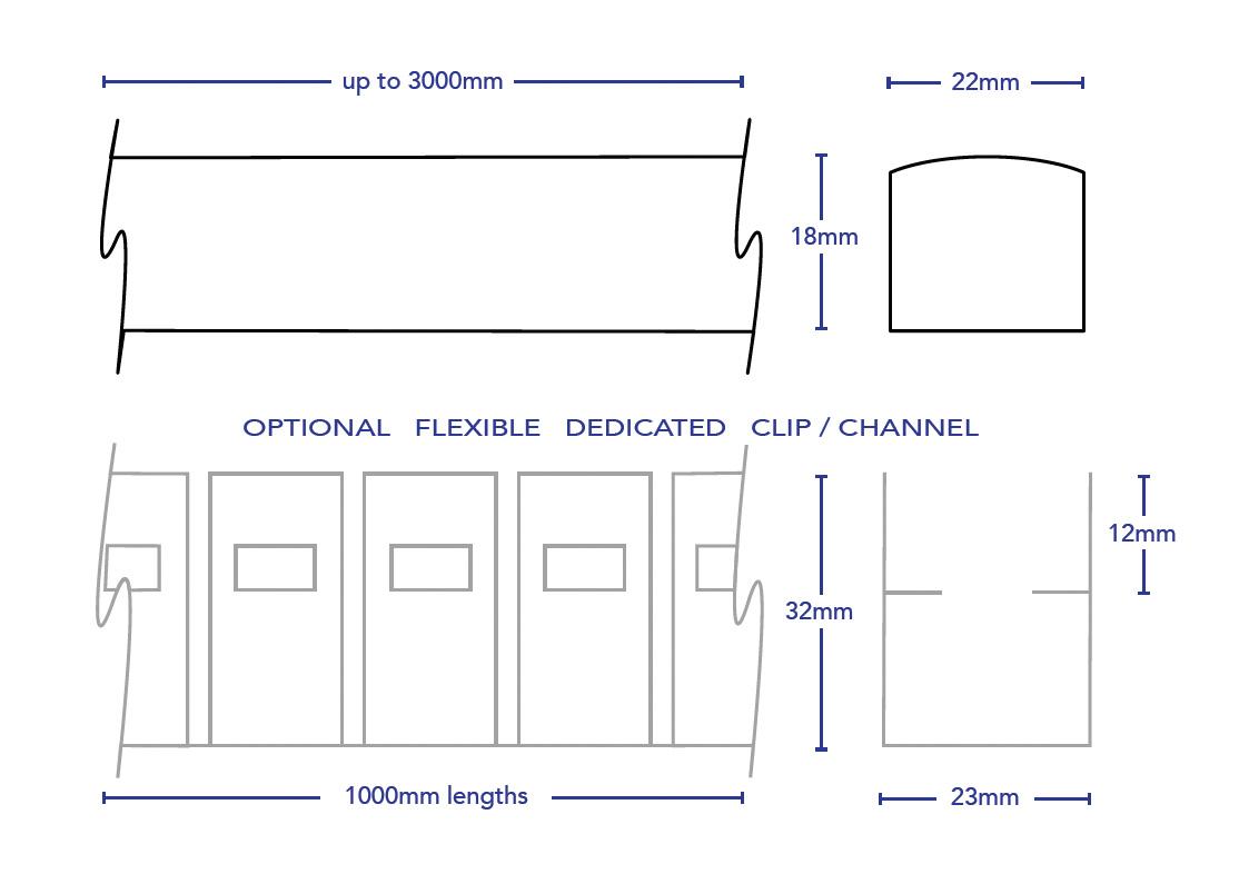 Led Rope Light Frontemitting.4481, 4453.lineart