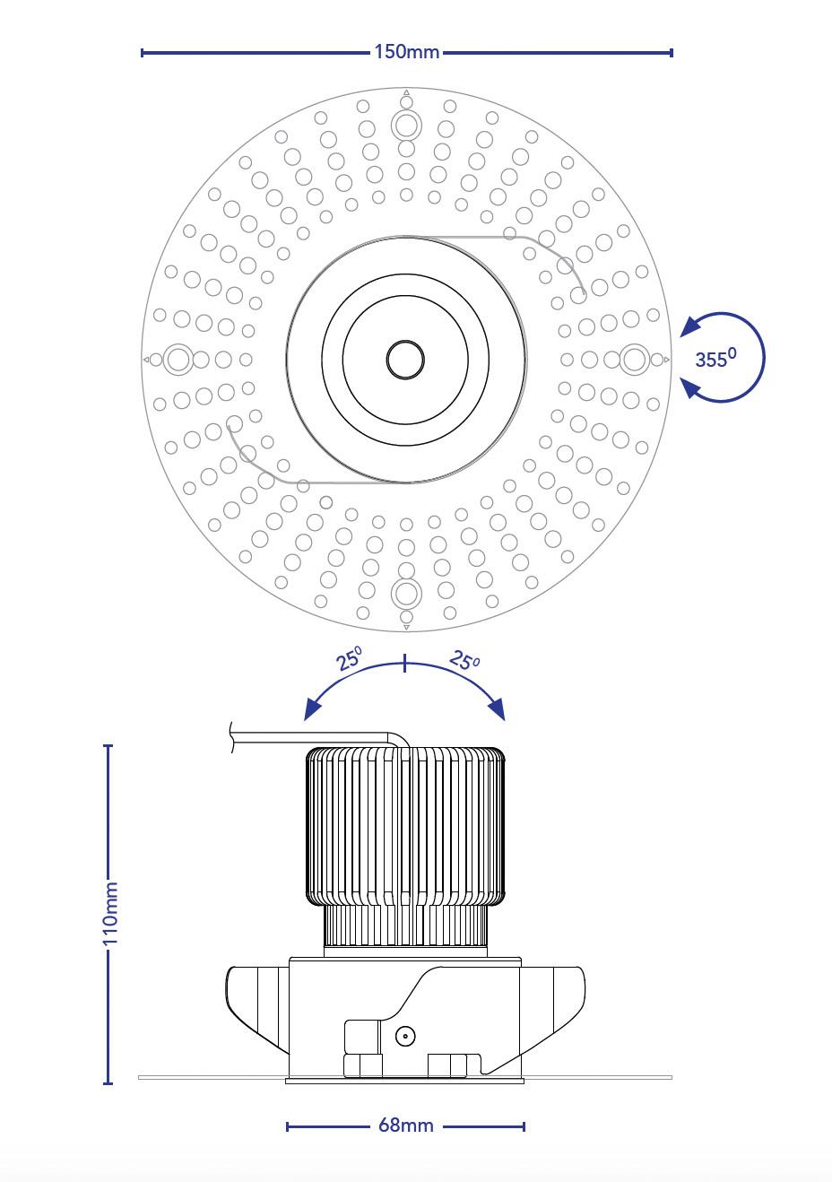 Downlight Csb.t.4909.lineart